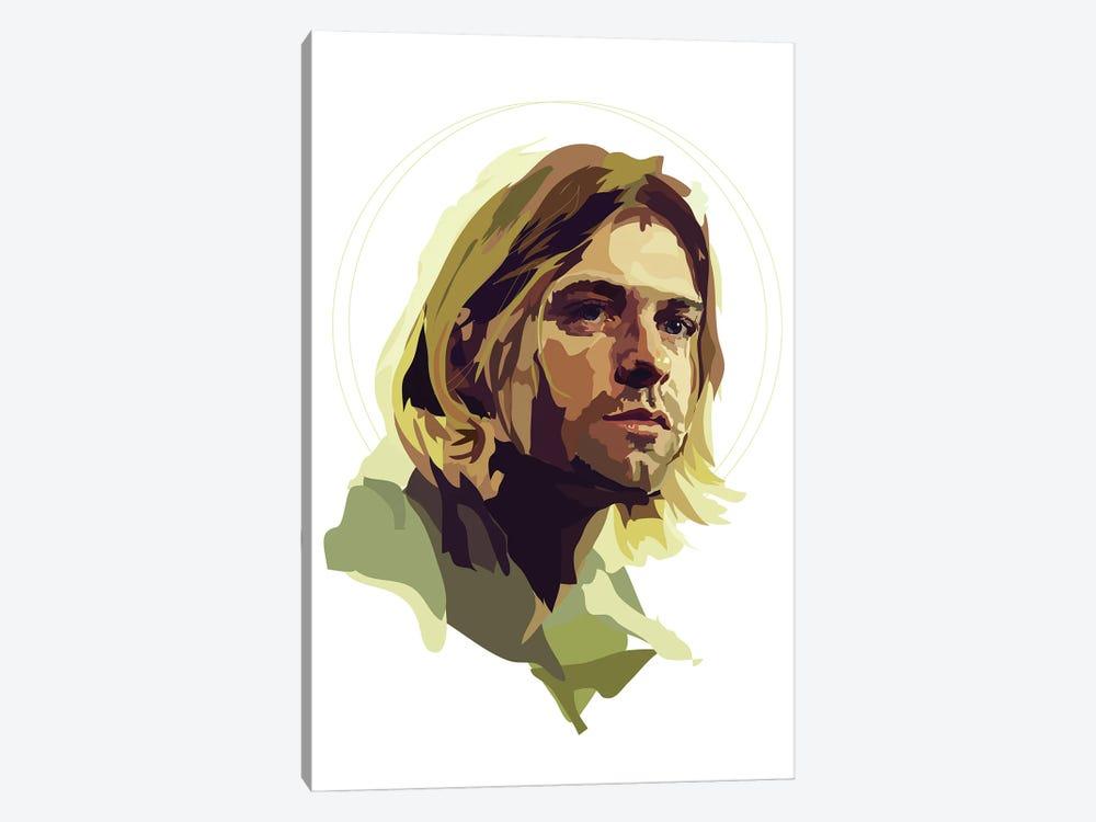 Kurt Cobain by Anna Mckay 1-piece Canvas Artwork