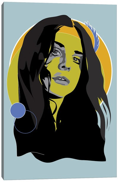Lana Del Rey Woodstock Canvas Art Print