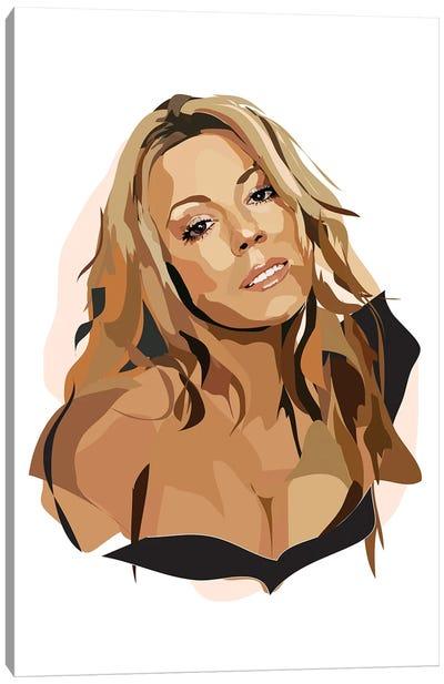 Mariah Carey Canvas Art Print