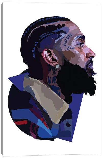 Nipsey Hussle Canvas Art Print