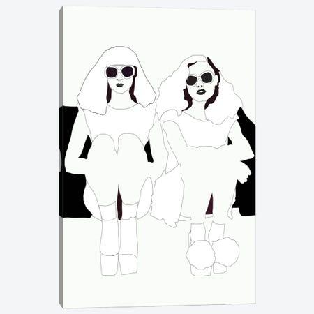 Sitting Around Canvas Print #AMK68} by Anna Mckay Canvas Print