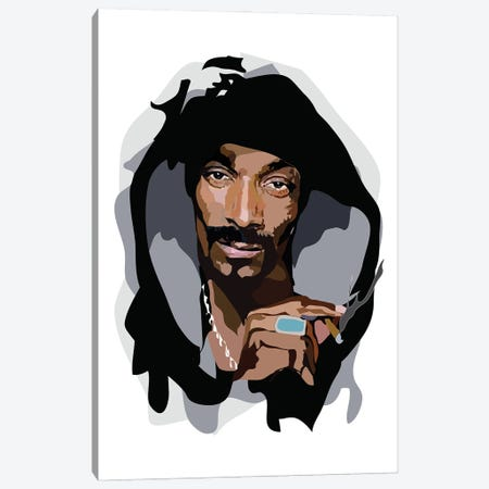 Snoop Dogg Canvas Print #AMK69} by Anna Mckay Art Print