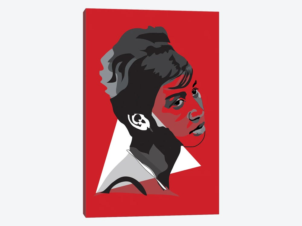 Aretha Franklin by Anna Mckay 1-piece Art Print