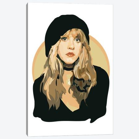 Stevie Nicks Canvas Print #AMK70} by Anna Mckay Canvas Artwork
