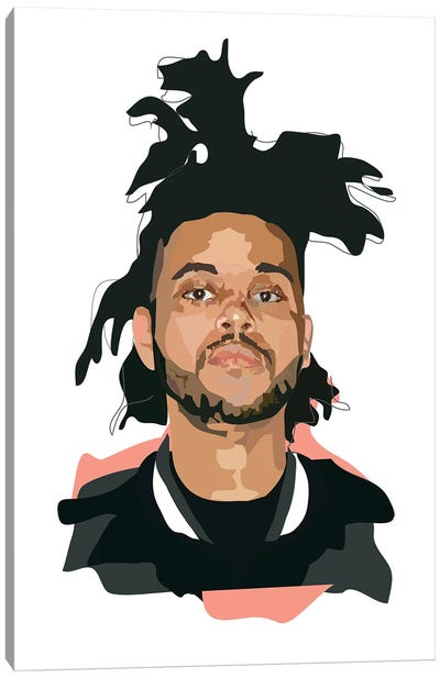 The Weeknd Canvas Art Print