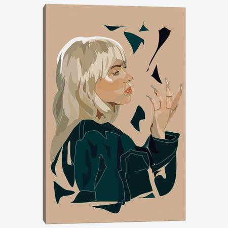 Billie Canvas Print #AMK76} by Anna Mckay Canvas Print