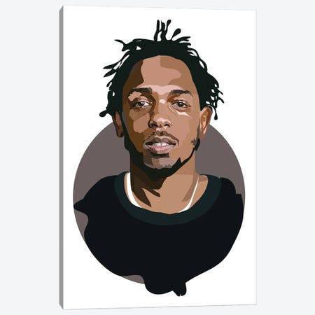 Kendrick Lamar Canvas Print #AMK81} by Anna Mckay Canvas Art Print