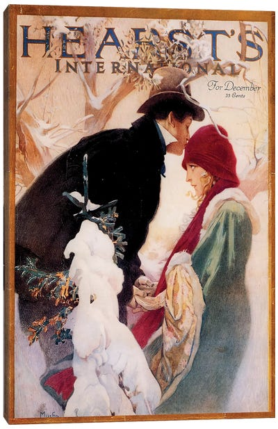 Hearst's International, December 1922 Canvas Art Print