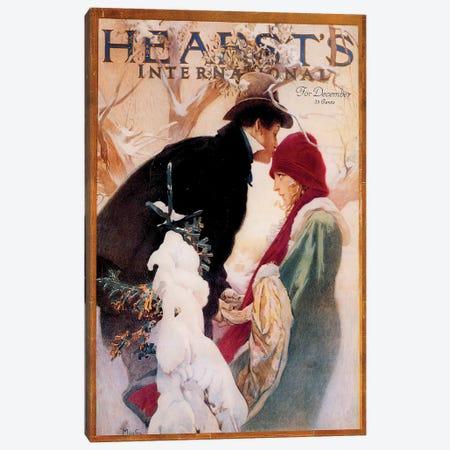 Hearst's International, December 1922 Canvas Print #AMM13} by Alphonse Mucha Canvas Art