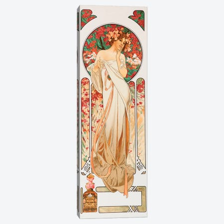 Perfume Canvas Print #AMM18} by Alphonse Mucha Canvas Art