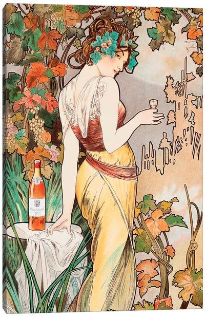 Cognac Canvas Art Print