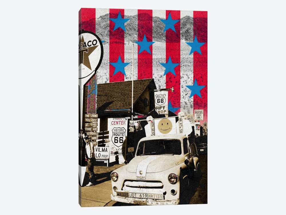 Route66 Onward by 5by5collective 1-piece Canvas Print