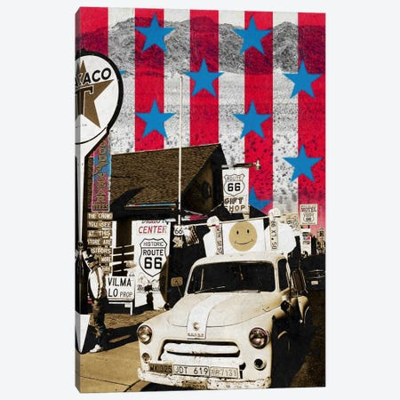 Route66 Onward Canvas Print #AMME10} by 5by5collective Canvas Art