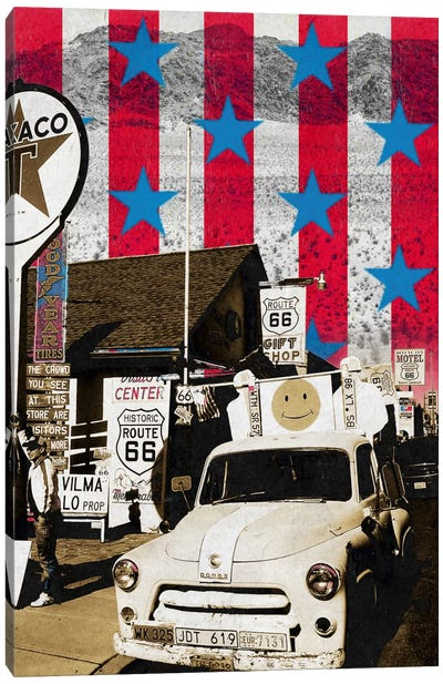 Route66 Onward Canvas Art Print