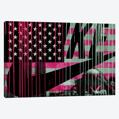 Urban States Of America Canvas Print #AMME13} by 5by5collective Canvas Wall Art
