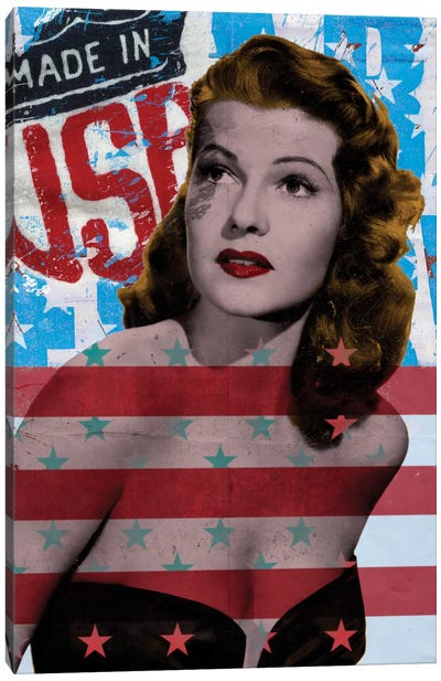 American Beauty Canvas Art Print