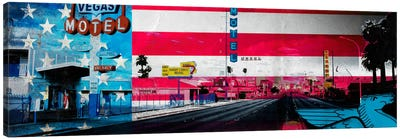 American Strip Canvas Art Print