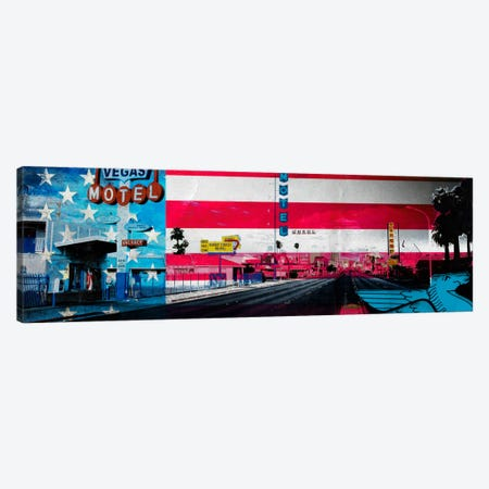 American Strip Canvas Print #AMME3} by 5by5collective Canvas Artwork