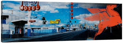 American Strip #1 Canvas Art Print