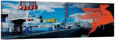 American Strip #1 Canvas Art Print