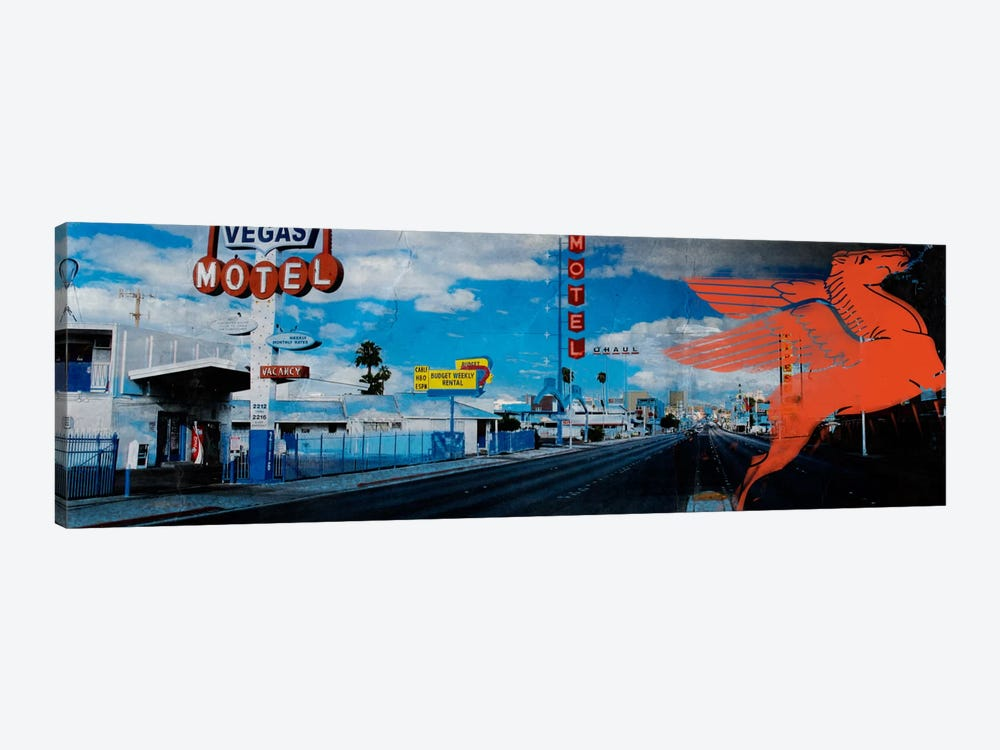 American Strip #1 by 5by5collective 1-piece Canvas Print