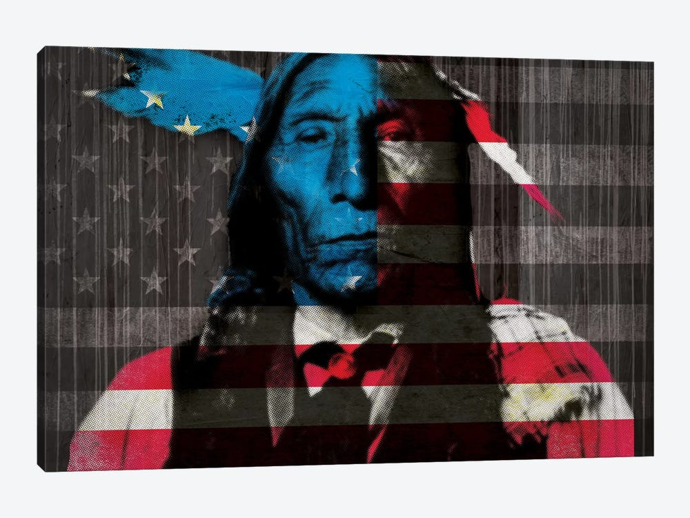 Cherokee by 5by5collective 1-piece Canvas Artwork