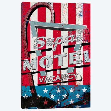 Red White And Stay Canvas Print #AMME9} by 5by5collective Canvas Artwork