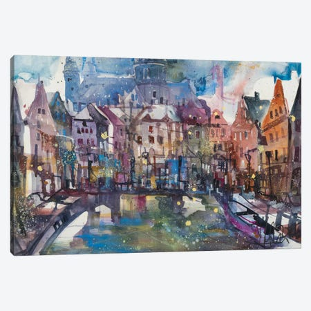 Amsterdam Canvas Print #AMN1} by Andreas Mattern Canvas Print