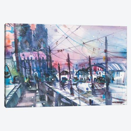 Cologne Canvas Print #AMN2} by Andreas Mattern Canvas Art Print