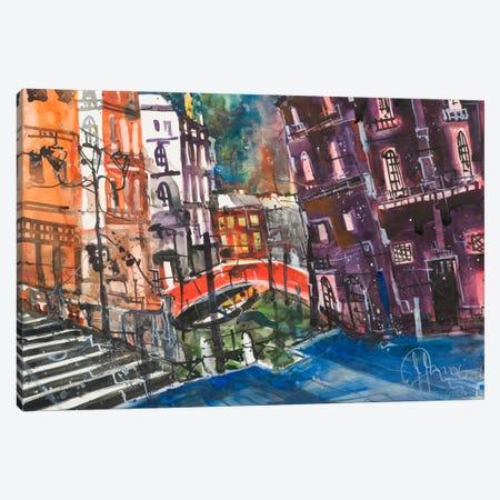 Venice Canvas Print #AMN6} by Andreas Mattern Canvas Wall Art