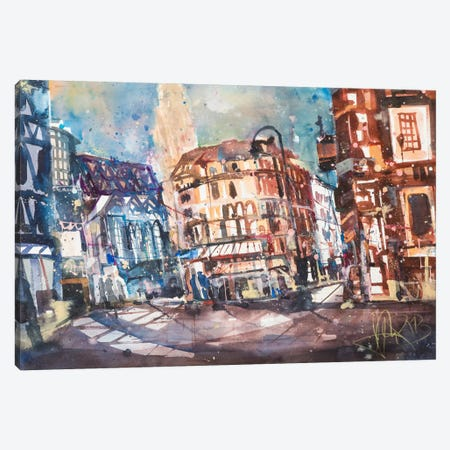 Vienna Canvas Print #AMN7} by Andreas Mattern Canvas Art