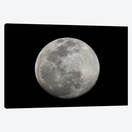 Full Moon In B&W Canvas Print #AMO1} by Arthur Morris Canvas Art
