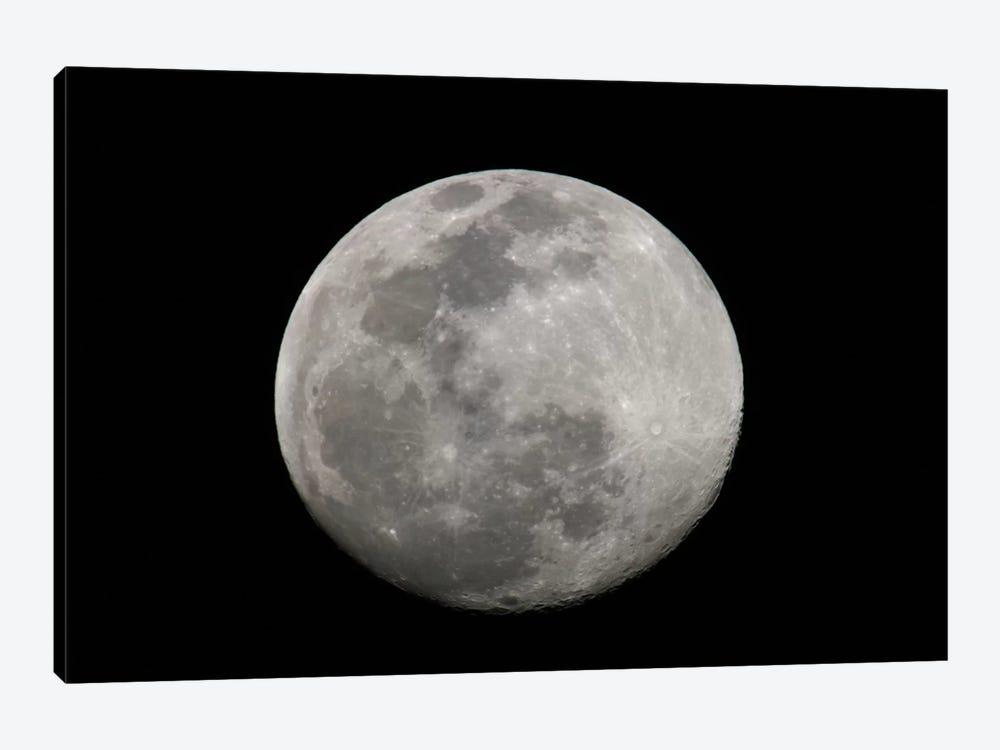 Full Moon In B&W by Arthur Morris 1-piece Canvas Wall Art