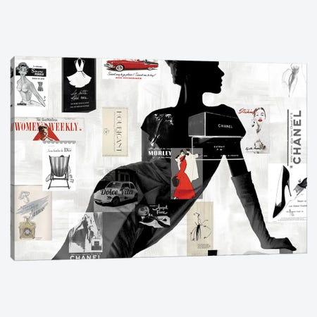 High Fashion I Canvas Print #AMP1} by Amanda Pearson Canvas Wall Art
