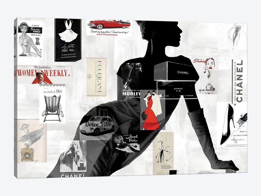 High Fashion I by Amanda Pearson 1-piece Canvas Print