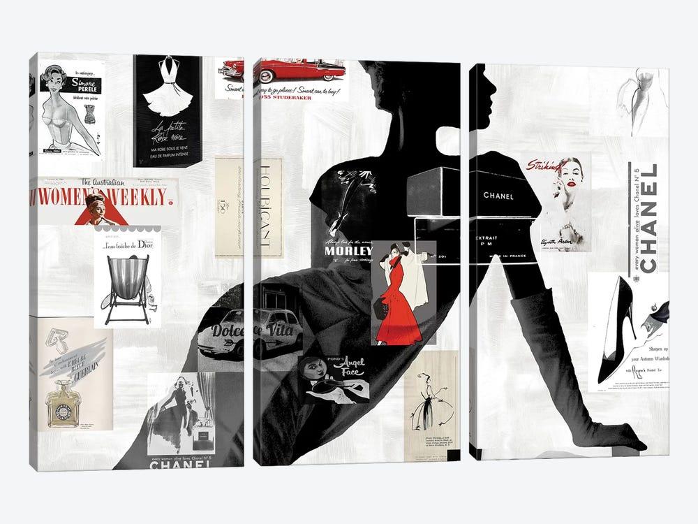 High Fashion I by Amanda Pearson 3-piece Art Print