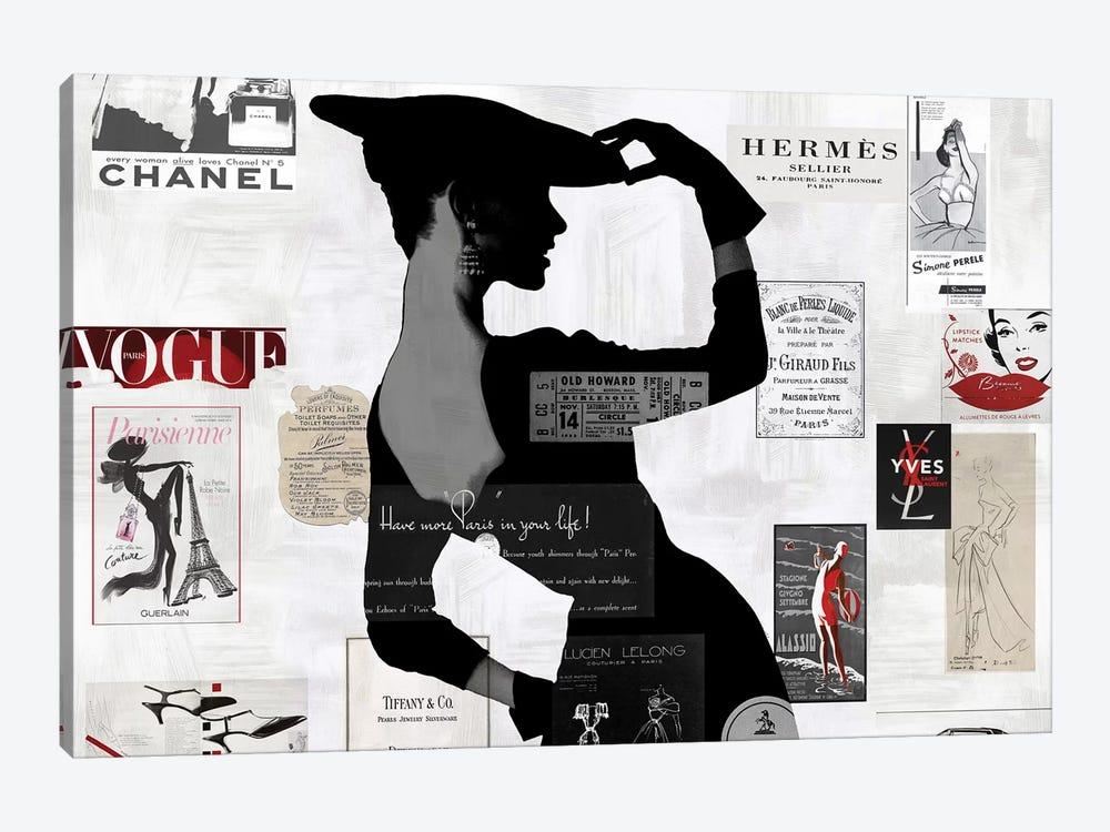 High Fashion II by Amanda Pearson 1-piece Canvas Art