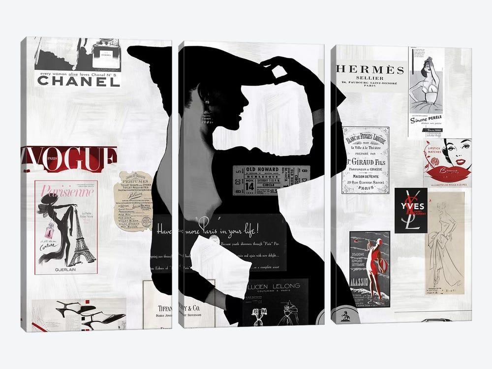 High Fashion II by Amanda Pearson 3-piece Canvas Art