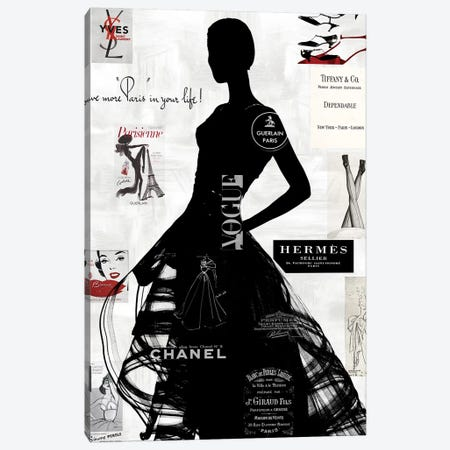 High Fashion III Canvas Print #AMP3} by Amanda Pearson Canvas Artwork