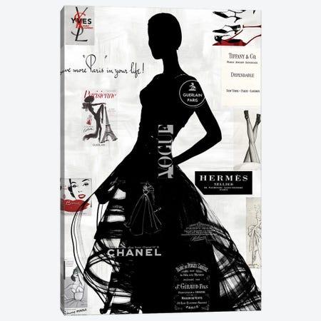 High Fashion III Canvas Print #AMP3} by Amanda Pearson Canvas Artwork