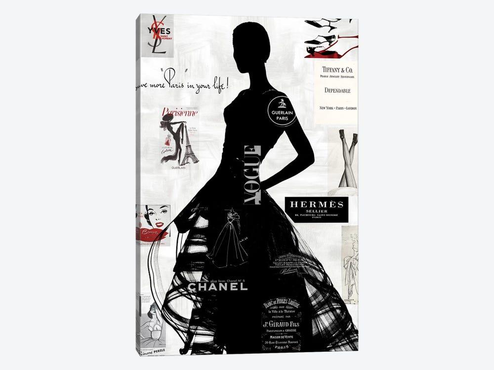High Fashion III by Amanda Pearson 1-piece Canvas Print