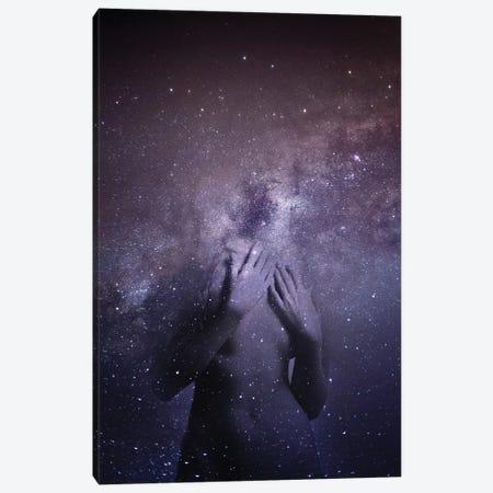 Space Girl I 3-Piece Canvas #AMR101} by Tatiana Amrein Canvas Art