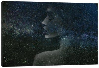 Space Girl II Canvas Art Print