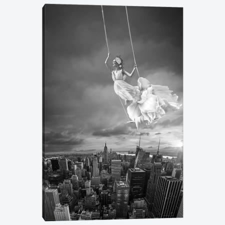 Swing Canvas Print #AMR103} by Tatiana Amrein Canvas Art
