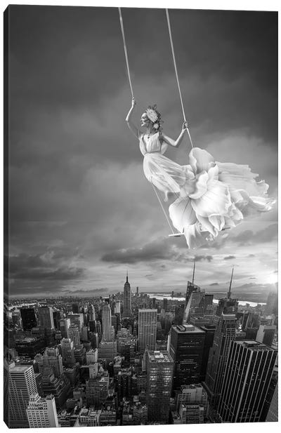Swing Canvas Art Print