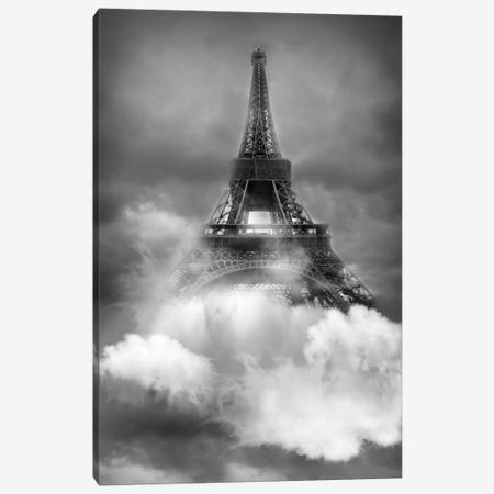 Tour Eiffel Canvas Print #AMR105} by Tatiana Amrein Canvas Art Print