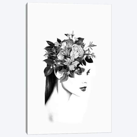 Floral I 3-Piece Canvas #AMR109} by Tatiana Amrein Canvas Art