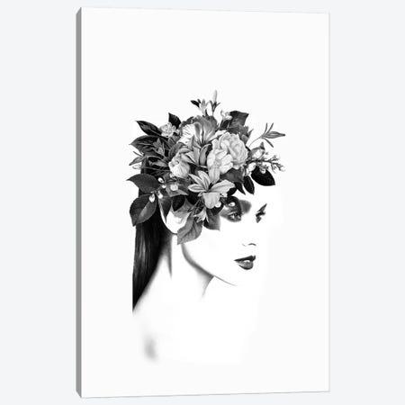 Floral I Canvas Print #AMR109} by Tatiana Amrein Canvas Art