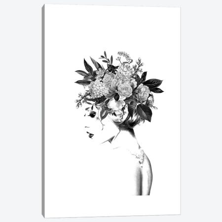 Floral II Canvas Print #AMR110} by Tatiana Amrein Canvas Art Print