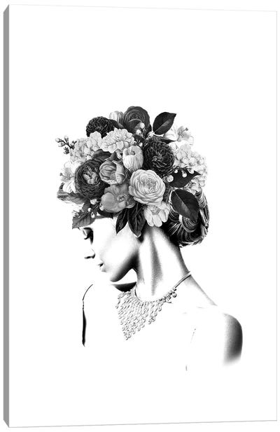 Floral IV Canvas Art Print